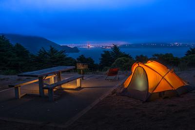 Warm Tent/Cool Night